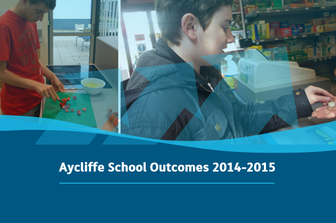 Aycliffe School - Outcomes 14-15