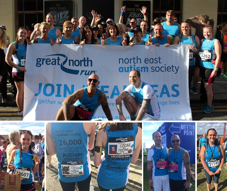 Team NEAS in Great North Run