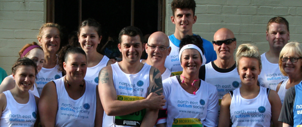 Team NEAS in the Great North Run