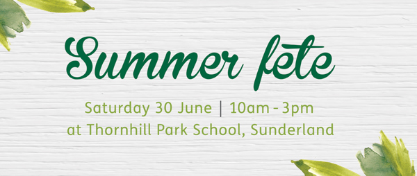 Thornhill Park School summer fete