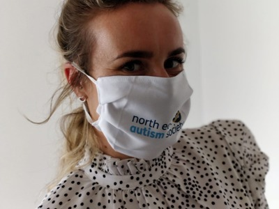 North East Autism Society Face Mask