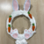 Make your own Easter bunny wreath kit