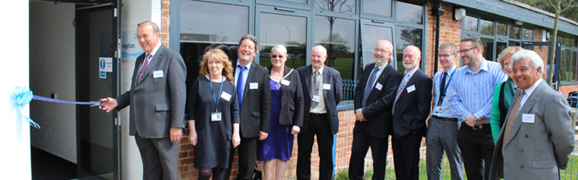 North East Autism Society celebrates the Official Opening of Sir Peter Vardy Enterprise Centre @ Thornbeck College