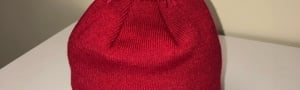 Infinity Loop Beanie (Red)