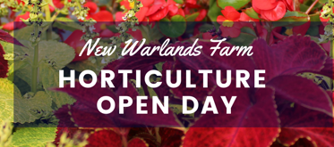 New Warlands Farm Horticulture Open Day