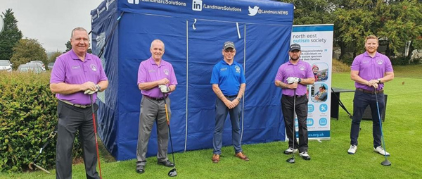 Golf club fundraising drive helps NEAS through the rough