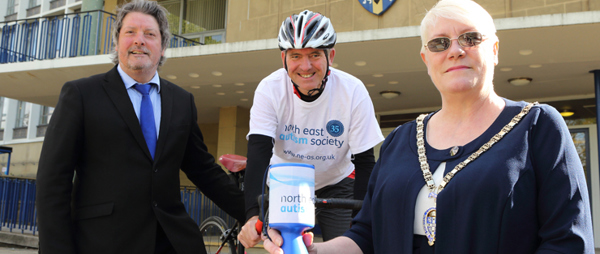 Councillor gets set for 270 mile cycle